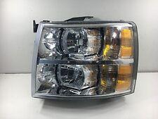2007 - 2013 Chevy Silverado Headlight OEM LH (Driver) - Pre-owned