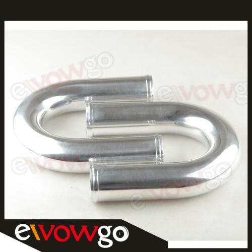 "2/"" Pulgadas Kit De Aluminio Universal Turbo Intercooler Tuberías Tubos Abrazadera Acoplador"