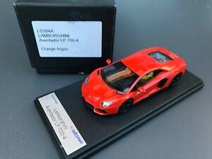 Lamborghini Aventador LP 700-4 orange argos Looksmart 1:43 !!  no BBR MR