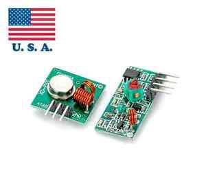 Arduino 433mhz transmitter