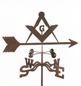 Masons-Weathervane-Masonic-Freemasons-Mason-Vane-with-Choice-of-Mount