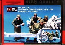 Hobby Fan 1/35 HF-549 WWII German FH18 Gun Crew (Eastern Front) (2) - 4 Figures