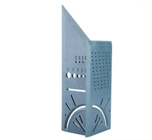 Règle de Charpentier 3D Mitre Angle 45 et 90° Menuiserie Jauge Mesure