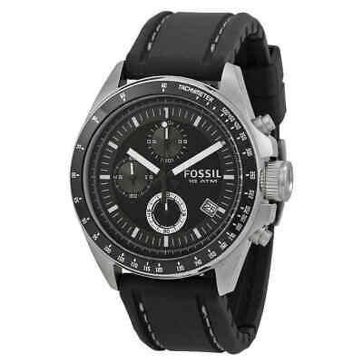 Fossil Dexter Black Dial Chronograph Men's Watch CH2573IE