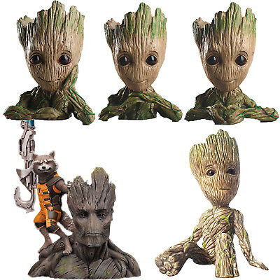 Guardians of The Galaxy Vol2 Groot Figuren Blumentopf Kinder Spielzeug Figur DE