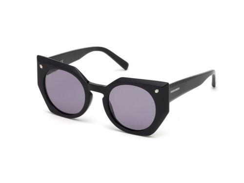 Sunglasses Dsquared2 Authentic DQ0322 BLONDIE shiny black violet 0