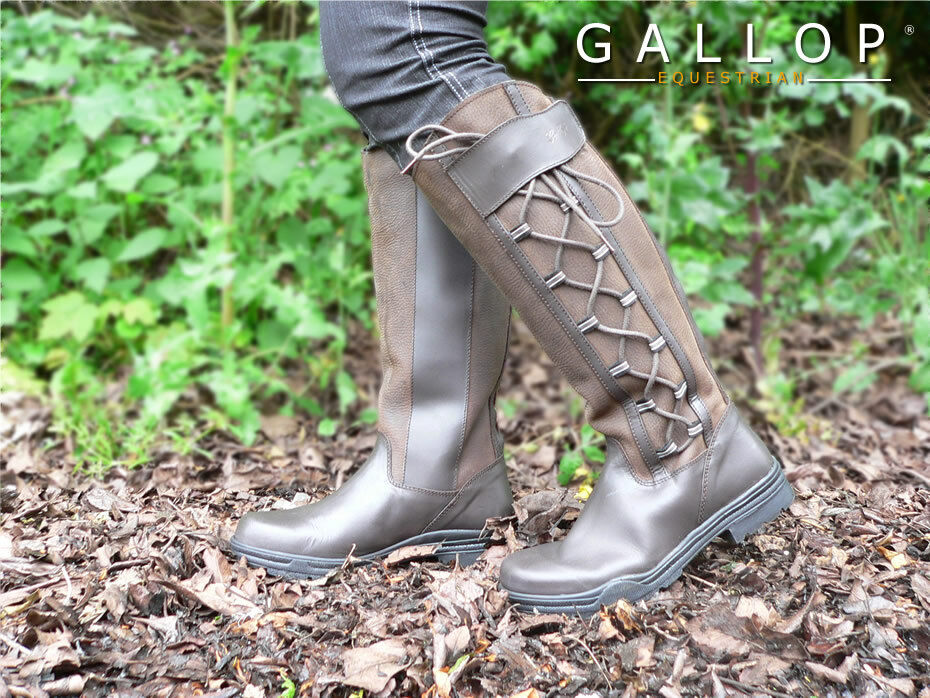 Gateley Waterproof Country bottes, standard or wide fitting, very smart Tailles 4-9