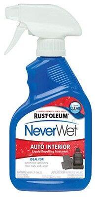 Rustoleum NeverWet Auto Interior Liquid Repellent Treatment 11 oz Clear 280884