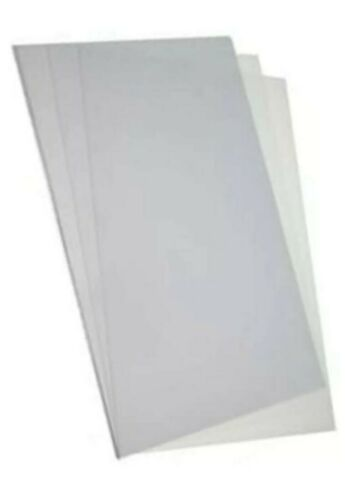 4x A4 Acetate Sheets Transparent Clear OHP Write On Plastic Film *FAST DISPATCH*