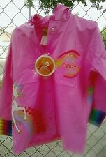 Rainbow Brite Raincoat Brand New size 5  m  Children's nwt rain coat