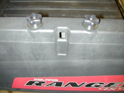 "Polaris Lock /& Ride Knob /& 2 2 Lock and Ride Eyelets for Ranger /""Stainless/"""