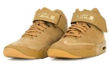 80962dcb362  95 Nike Air Akronite AS LeBron James Wheat Suede Basketball Shoes 836387- 700