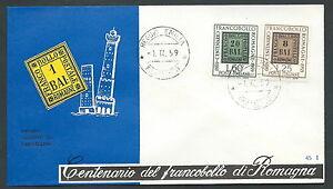 1959-ITALIA-FDC-RE-RU-FRANCOBOLLO-ROMAGNE-NO-TIMBRO-ARRIVO-KI1-4