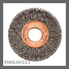 WEILER Crimped Wire Wheel Brush,Arbor,2-1//2 in. 15627