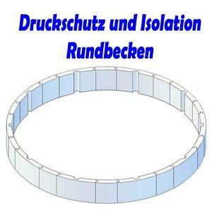 Pool Isolation Druckschutz Wärmeschutz 4,6m x1,2m Breiter-Handlauf ...