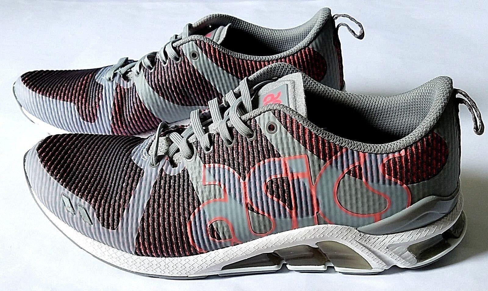 Asic gel medio lyte 180 uomini hn6c1 medio gel grey / guava scarpe da corsa sz 10,5 12 e2a57e