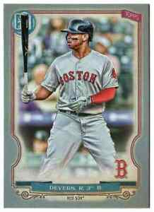 2020-Topps-Gypsy-Queen-Silver-136-Rafael-Devers-Boston-Red-Sox-Parallel