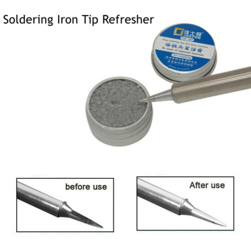 Electrical Soldering Iron Tip Refresher solder Cream Solder Head Clean Paste Q8