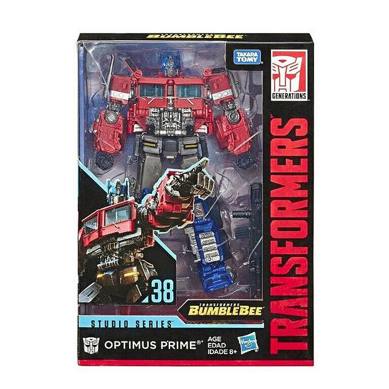 (InHand) Transformers Studio Series 38 Voyager Bumblebee Movie Optimus Prime New