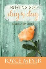 Trusting God Day by Day : 365 Daily Devotions by Joyce Meyer (2012, Hardcover)