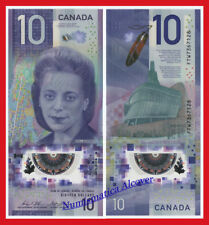 CANADA 10 Dolares dollars 2018 NEW DESIGN Viola Desmond Polymer Pick NEW SC  UNC