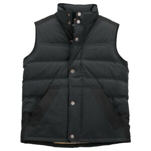 Timberland-Mountain-Down-Vest-5461J-Black-Insulated-Men-SZ-M-L-Retail-148