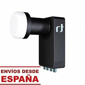 LNB-INVERTO-BLACK-ULTRA-QUAD-Hi-Gain-ULN-Tecnologia-reduccion-Ruido-HDTV-4K