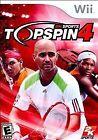 Top Spin 4 (Nintendo Wii, 2011)