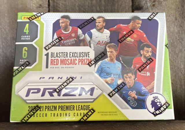 2020-21 Panini Prizm English Premier League Soccer Blaster Box Factory Sealed