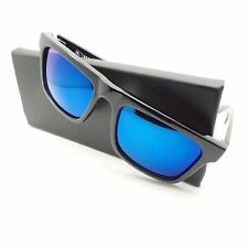 Spy Optic Atlas Black Sunglasses Polarized Happy Blue Lens 673371038438