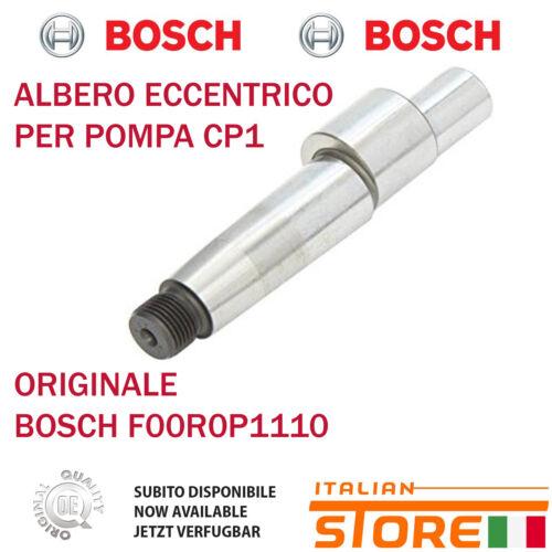 ALBERO ECCENTRICO PER POMPA CP1 ORIGINALE BOSCH F00R0P1110