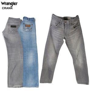 Vintage-Wrangler-Crank-Herren-Regular-Fit-Straight-Jeans-26w-bis-44w