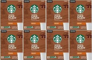 176-COUNT-Starbucks-Pike-Place-K-Cups-8-Boxes-of-22-Count-Best-Before-7-2020