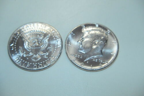 2019  D /& P  BU KENNEDY HALVES  FROM US MINT ROLLS HERE NOW IMMEDIATE SHIPPING