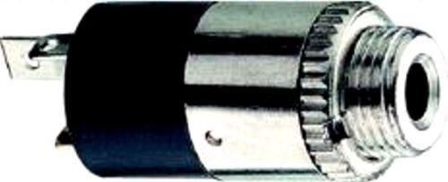 Klinkenbuchse Einbaubuchse 3,5mm Stereo Jack Neuware