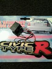 Honda civic type r power electro luminicence emblem lights up