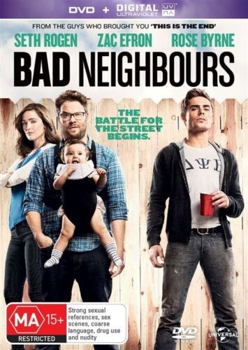 1 of 1 - Bad Neighbours Region 4 DVD, 2014 New & Sealed UV code may have expired