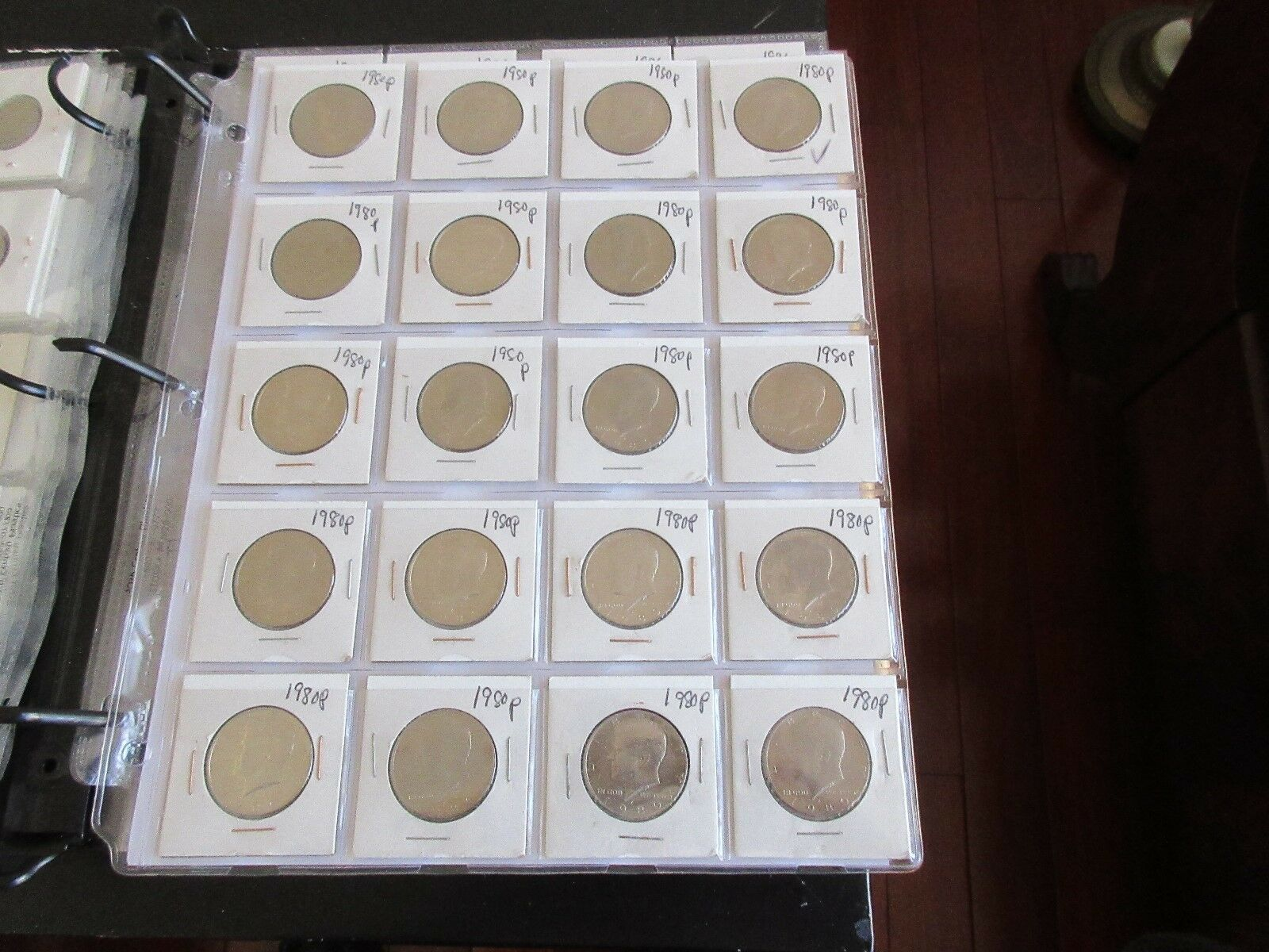 Kennedy Half Dollar , Lot 40 , 1980