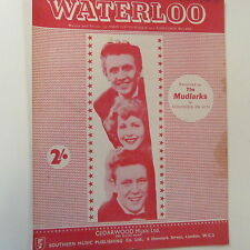 song sheet WATERLOO, The Mudlarks, 1959