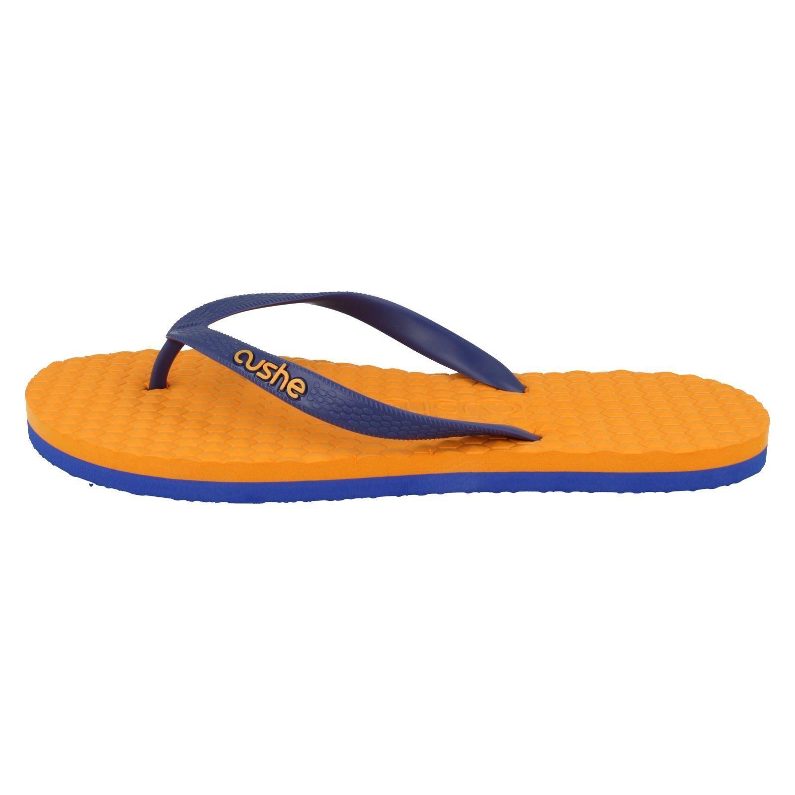 Mens Cushe Orange/Blue Summer Flip