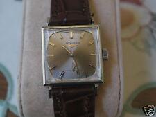 Nice Vintage LONGINES 370 10KWGF 17J Manual Wind Men's Watch