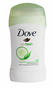 6x-Dove-Go-Fresh-30-ml-Deodorant-deo-Stick-Gurke-Gruener-Tee-48hr-Antitranspirant