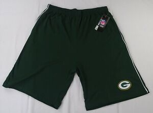 Greenbay-Packers-NFL-Majestic-Men-039-s-Big-and-Tall-Drawstring-Shorts