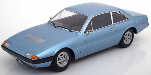 Kk Echelle Modèles 1972 Ferrari 365 Gt4 2 Bleu Le De 1000 1/18 Neuf En Stock
