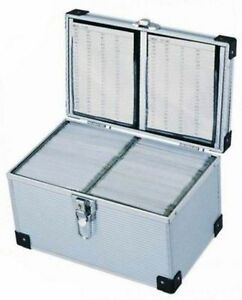 Neo-200-DJ-Aluminium-CD-DVD-Blu-Ray-Disc-Storage-Flight-Carry-Case-Box