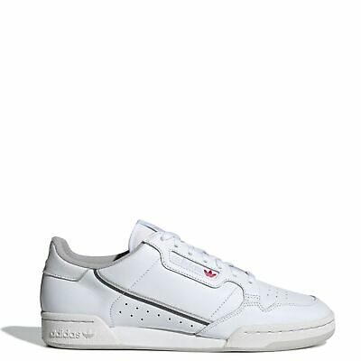 adidas Men's Originals Continental 80 Shoes: WhiteGray EE5342 | eBay