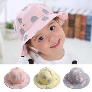 0e2236784d4b Cute Baby Girl Hat Spring Summer Toddler Kids Girl Sun Hat Caps ...