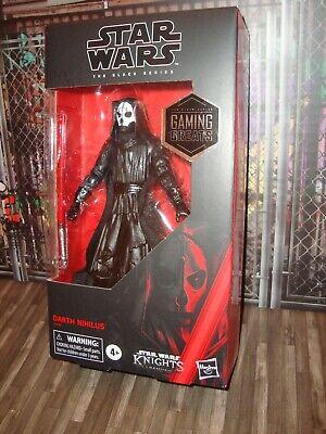 "Star Wars Black Series 6/"" Darth Nihilus KOTOR Gaming Greats Exclusive In Hand"