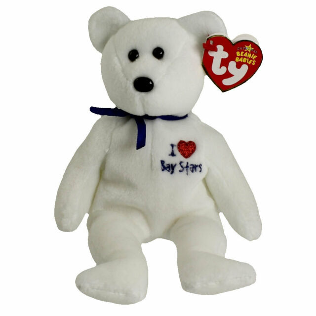 Ty Beanie Baby Baystars I Love Bear - MWMT Japan Exlcusive for sale ... ca9a5c07df87