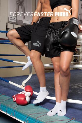 Chaussettes 3 Uk femmes Tailles Puma Paquets Hommes Trimestre Sport Paires dawfqzBX